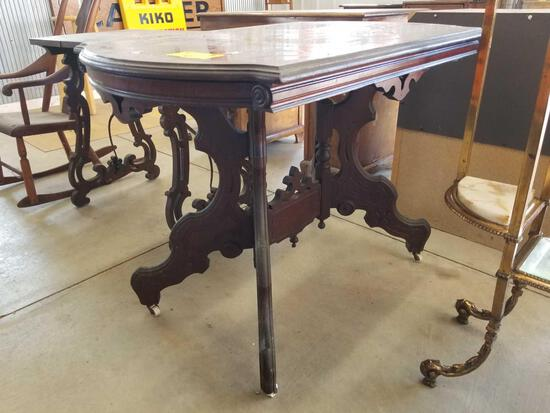 Victorian lamp table