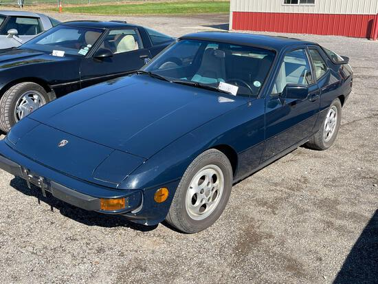 1988 Porsche 924S......53,954 miles. Odometer discrepancy. Owner believes the odometer to be nearly