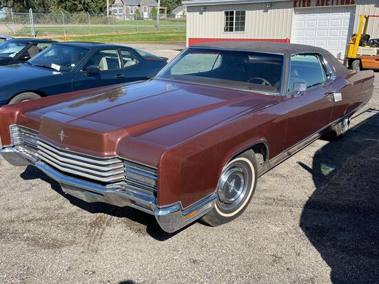 1970 Lincoln continental. 31,511 actual miles.
