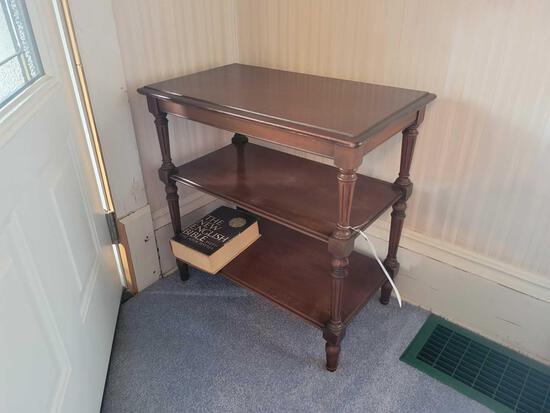 Small 3 tier side table