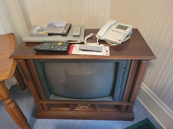 Zenith tv and dvd player
