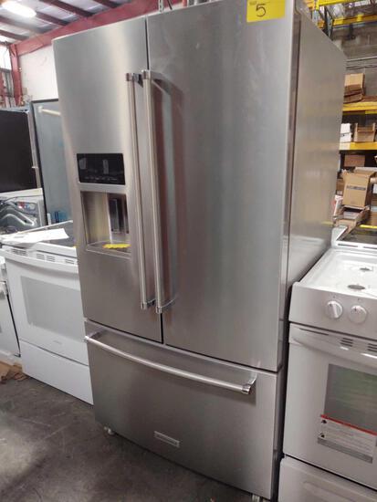 *USED* KitchenAid Stainless steel Refrigerator Model #KRFF507HPS