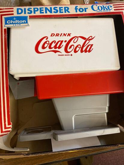 Vintage Chilton Coca Cola dispenser in original box