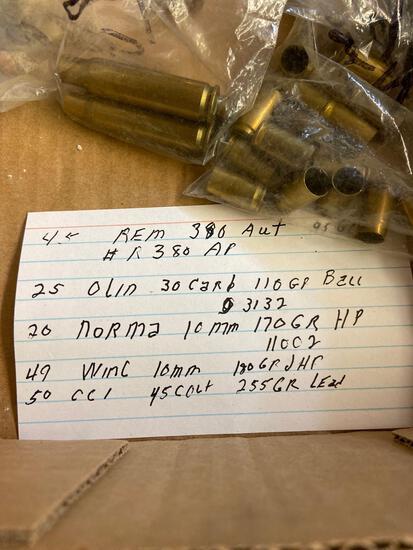 Assorted ammo