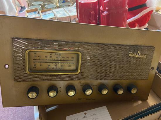 Music and Sound tube whole house radio