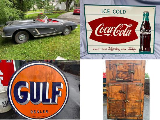 1962 Corvette - Signs - Antiques - 18057 - Ryan