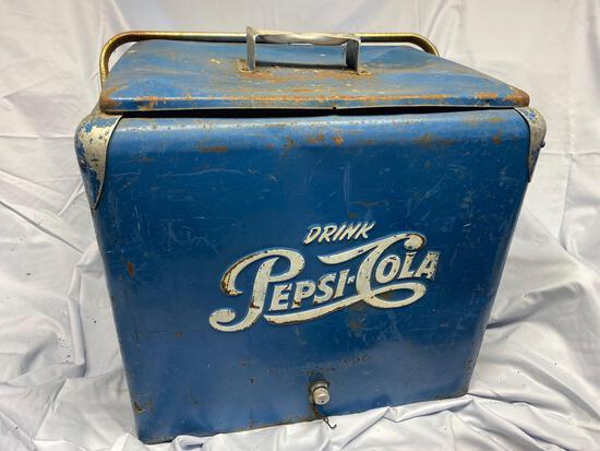 Pepsi-Cola cooler