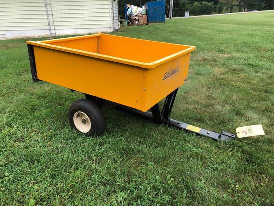 Cub Cadet lawn cart
