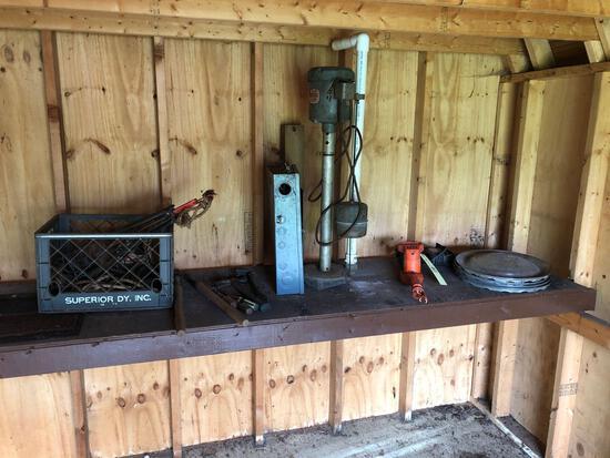 Hub caps, chimney sweep, water pump, etc