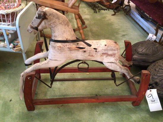 Early child hobby horse