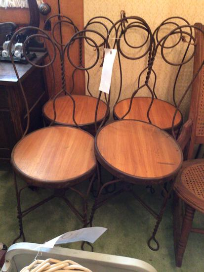 4 parlor chairs
