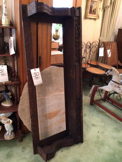 Mirror frame and two table tops