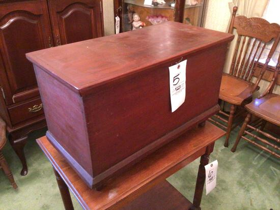 """Small dovetailed chest. 24"""" wide"""