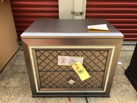 New Ashley Furniture 2-drawer nightstand (tax)