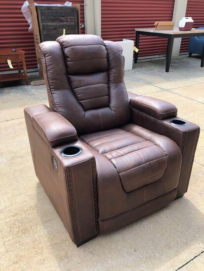New Ashley Furniture power recliner (tax)