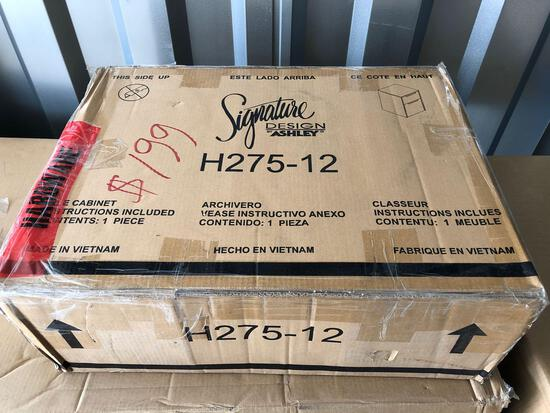New Ashley furniture file cabinet (tax)