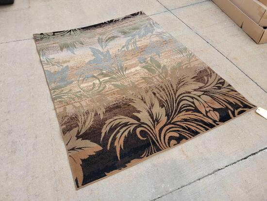 Woven rug 5 ft. 3 in. x 7 ft. 1 in. (Tax)