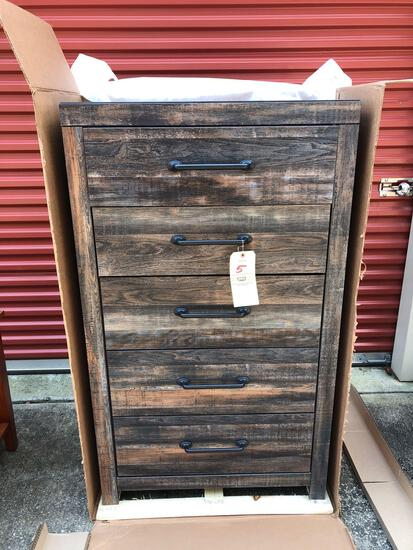 New Ashley furniture 5-drawer chest (tax)