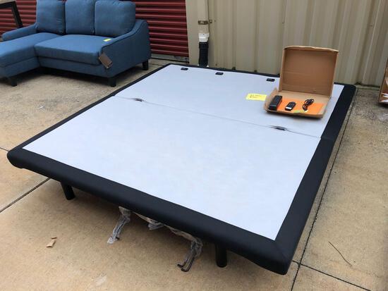 New Ashley Furniture king size adjustable box spring (tax)