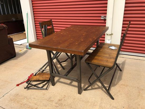 New Ashley Furniture dining table set (tax)