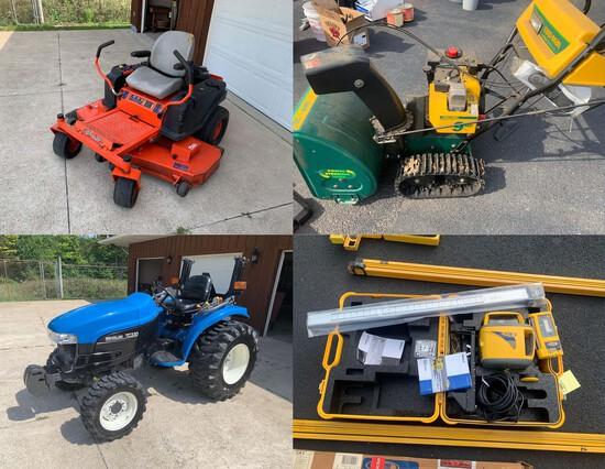 Tractor - Tools - Mower - Furniture - 18106 - Jake
