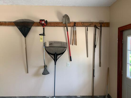 Yard tools - homelite trimmer