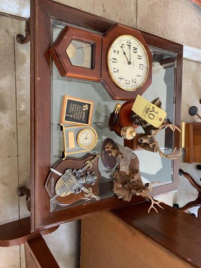Clock - decor - coffee table