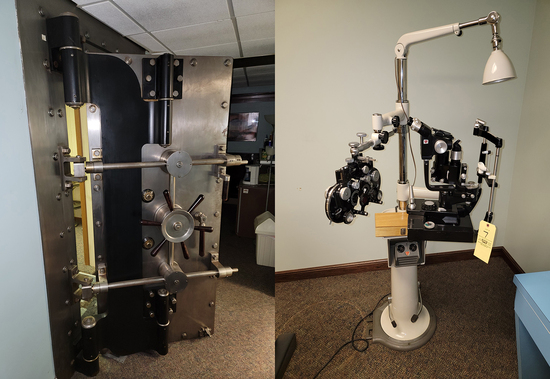 Bank Vault Doors - Optometrist Eq. - 18118 - Gabe