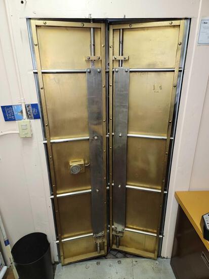 York Safe & Lock Co. Double Vault Doors