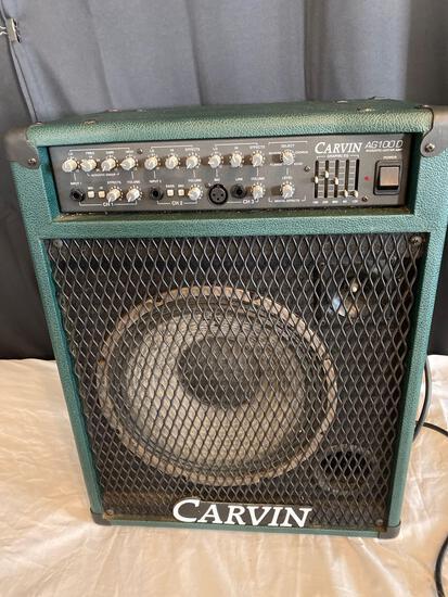 Carvin AG 1000 acoustic guitar amp, 100 watt.