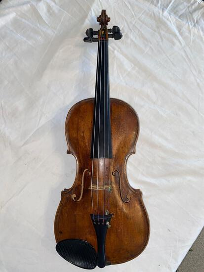 Antique violin made in Mittenwald Germany.