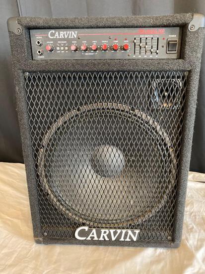 Carvin Pro Bass 200 amplifier, 160 watt.