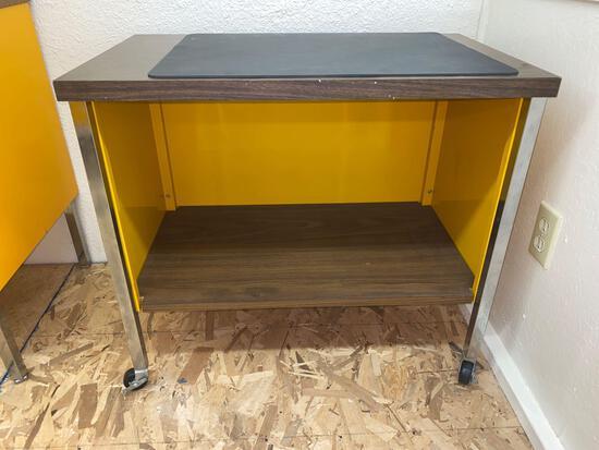 Computer/typewriter stand.