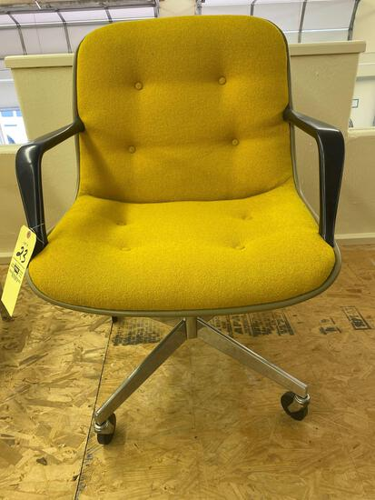 Steelcase swivel office chair.