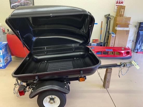 Haul Master tag along trailer model #66771.