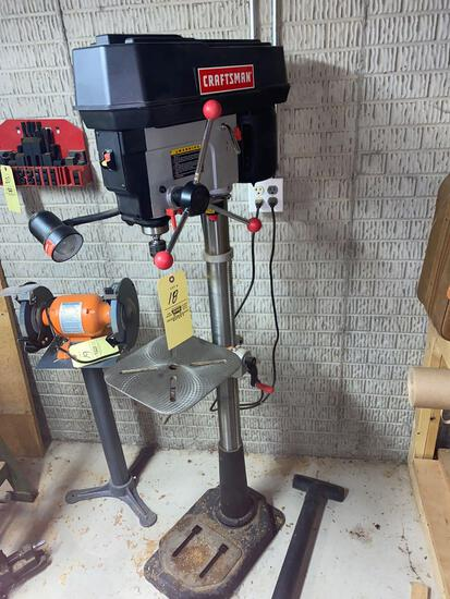 Craftsman 15inch drill press with laser-trac