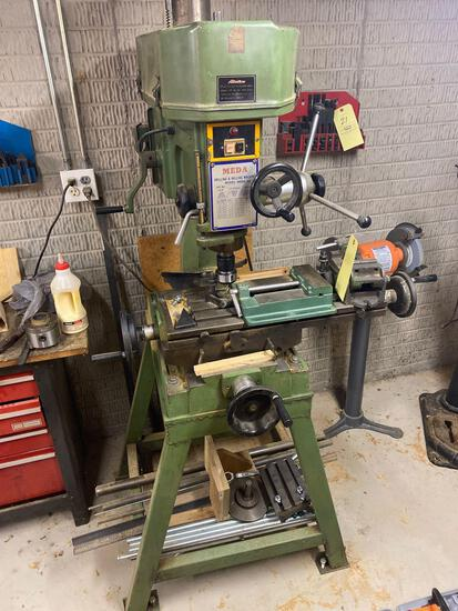 Meda model 30 drilling and Milling machine