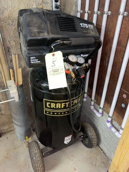 Craftsman 175 psi upright air compressor