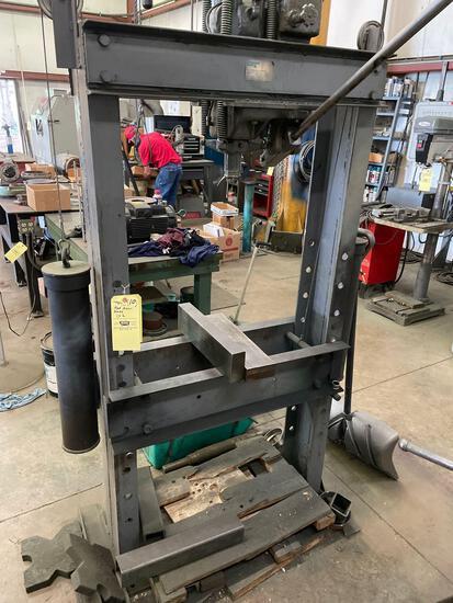 Lampco hyd. arbor press 5k lb