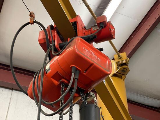 Cm valve star 2ton elec hoist