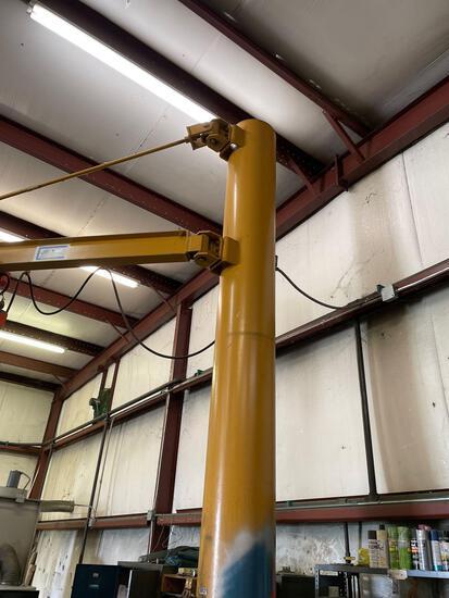 2ton floor mount jib crane