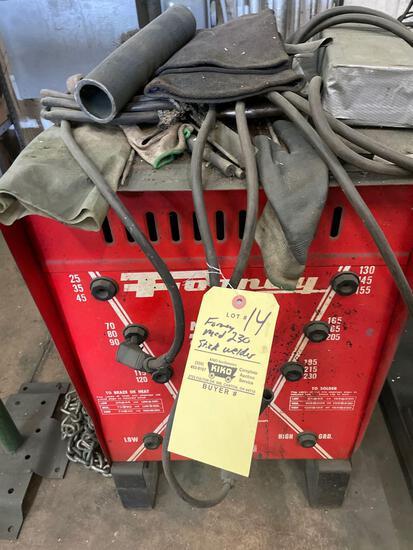 Forney mod 230 stick welder