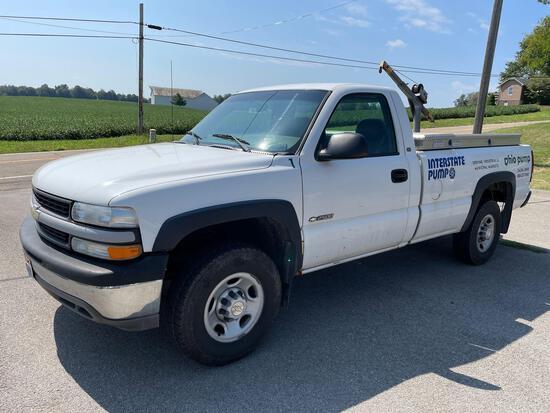 2000 chevy HD 2500 Silverado work truck