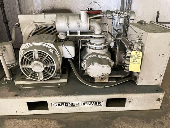 Gardner Denver mod 1214-855 25hp air compressor