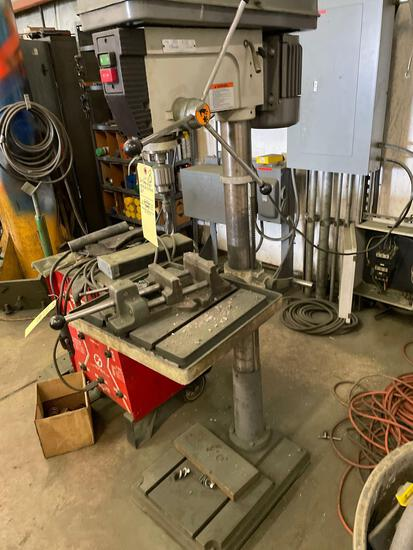 Wilton 20in floor mod drill press with vise