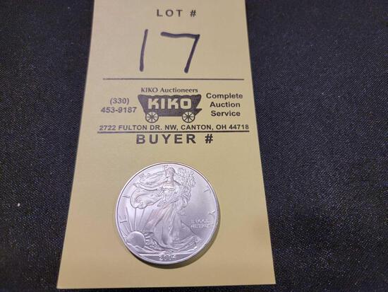 2004 American Silver Eagle Dollar