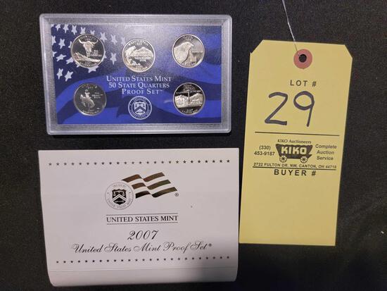 2007 US Mint State Quarters Proof Set