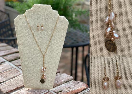 Necklace and Matching Earring Set