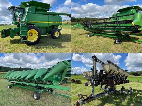 JD Combine & Heads - Farm Equip - 18144 - Rudy