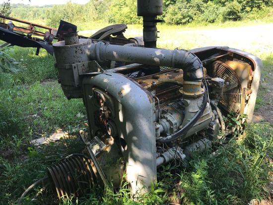 Detroit diesel power unit